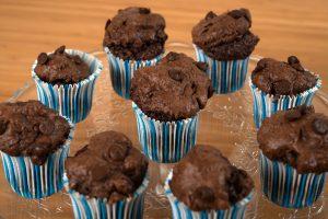 Muffins primer plano